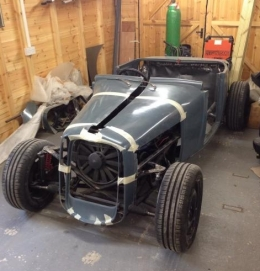 1928 Ford Model A Roadster Hot Rod Build